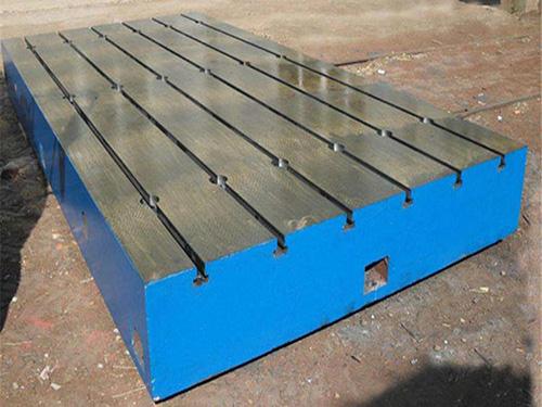T型槽铸铁平台