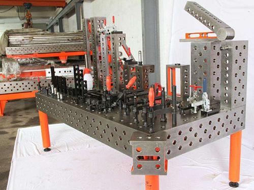 三维柔性焊接工装平台