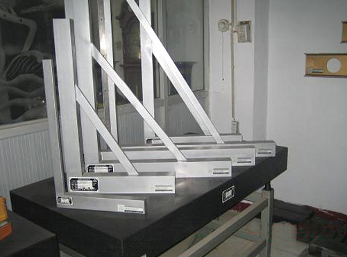 镁铝合金宽座直角尺