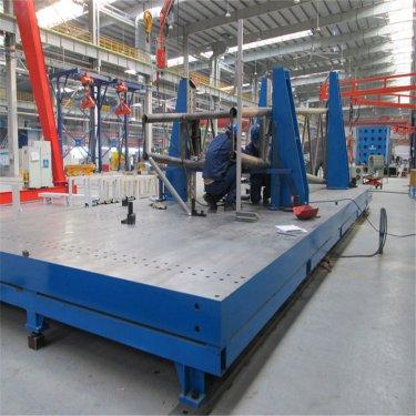 如何正确安装铸铁T型槽平台